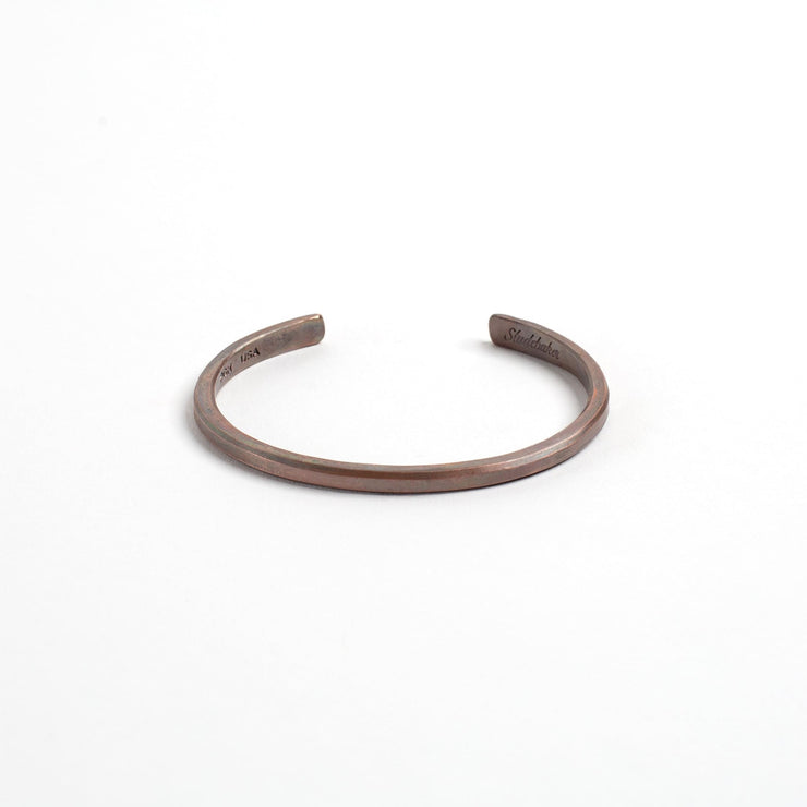 Classic Cuff - Small / Copper / Work Patina - Cuffs /