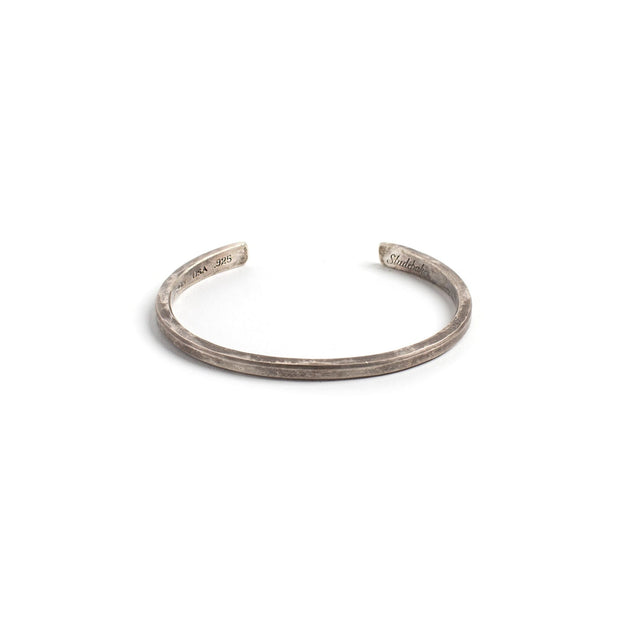 Classic Cuff - Small / Sterling Silver / Work Patina - Cuffs