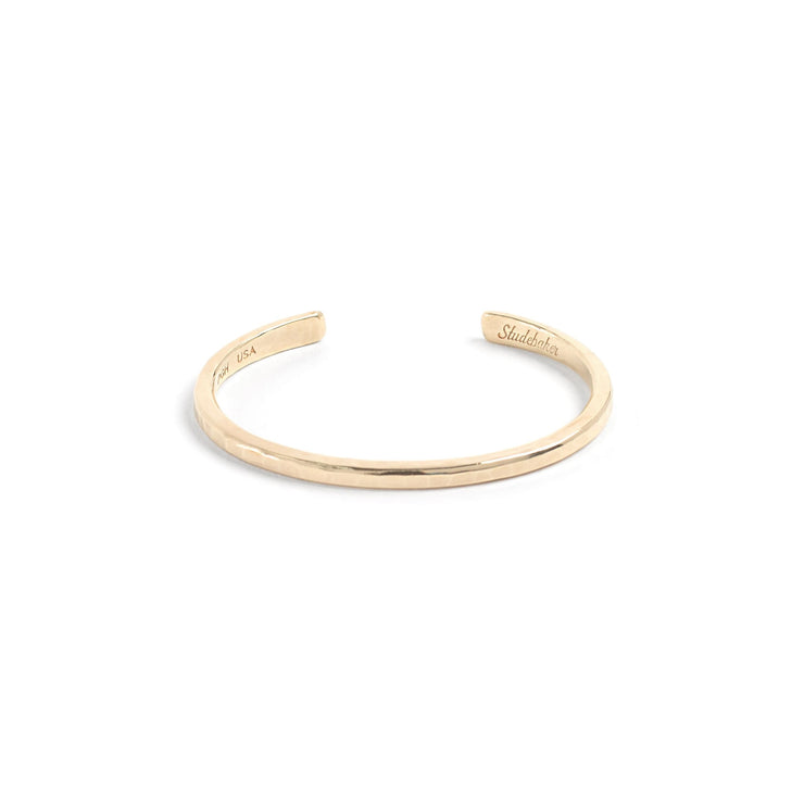Classic Cuff / Solid Gold - 10K / Small / Yellow - Cuffs /