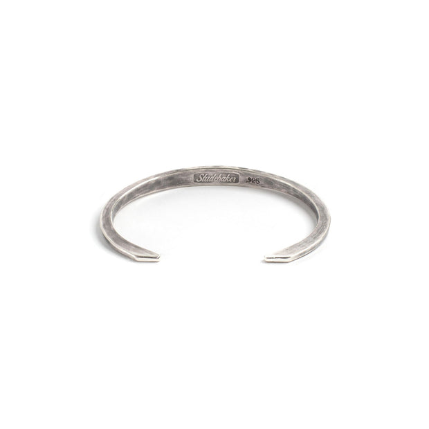 Hawk Cuff - Small / Sterling Silver / Work Patina - Cuffs /