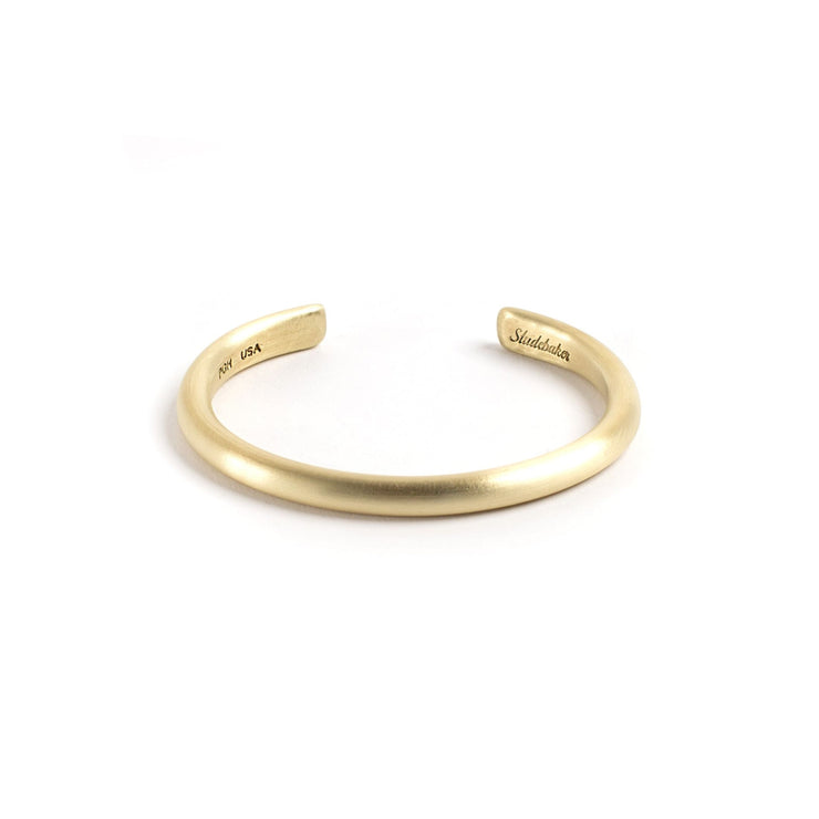 Heavyweight Champion Cuff - Small / Brass / Brushed - Cuffs