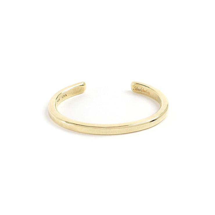 Heavyweight Classic Cuff - Small / Brass / Polished - Cuffs