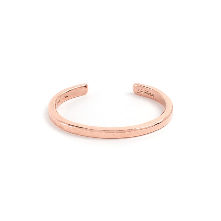 Heavyweight Classic Cuff - Small / Copper / Polished - Cuffs