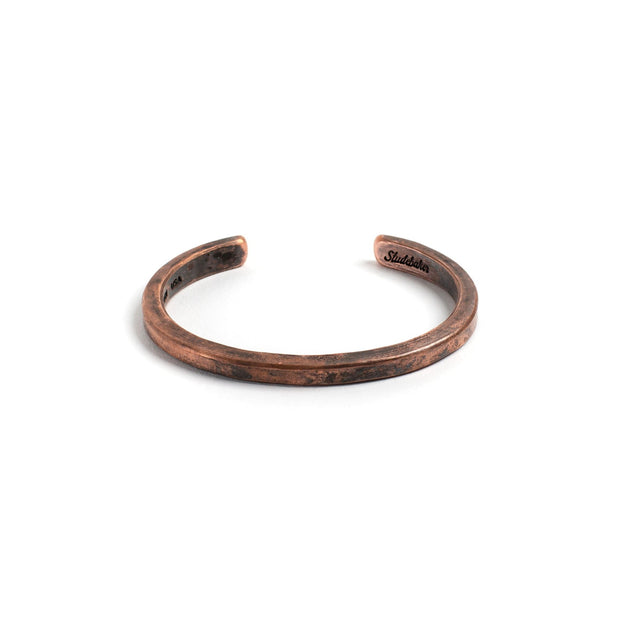 Heavyweight Classic Cuff - Small / Copper / Work Patina -