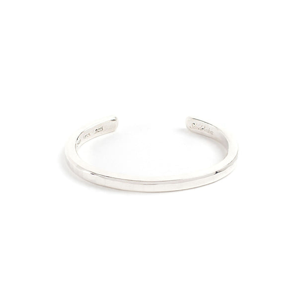 Heavyweight Classic Cuff - Small / Sterling Silver /