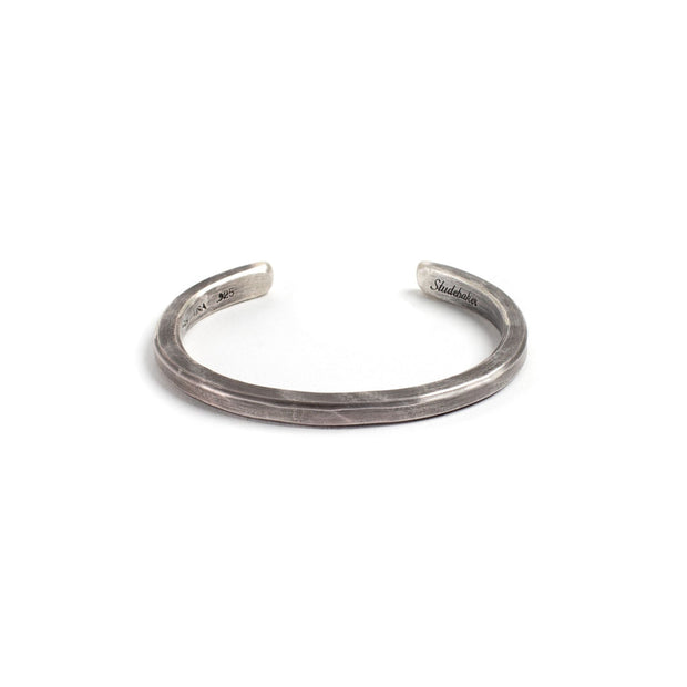 Heavyweight Classic Cuff - Small / Sterling Silver / Work