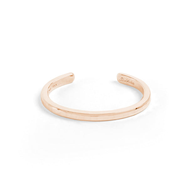 Heavyweight Classic Cuff / Solid Gold - 10K / Small / Rose