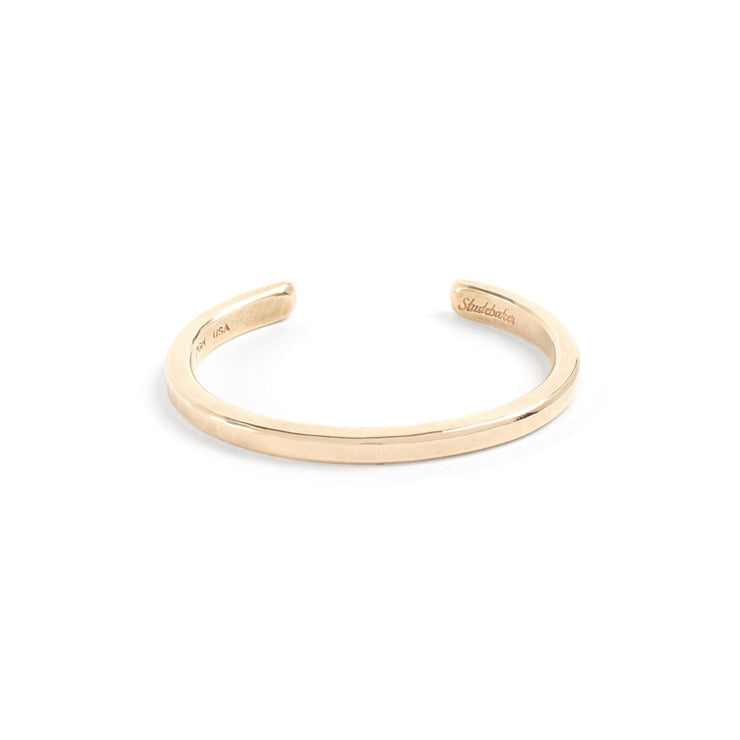 Heavyweight Classic Cuff / Solid Gold - 10K / Small / Yellow