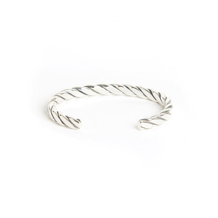 Heavyweight Plait Cuff - Cuffs / Bracelets