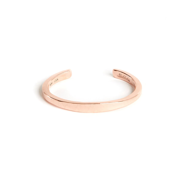 Heavyweight Workshop Cuff - Small / Copper / Polished