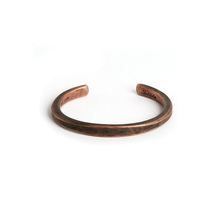 Heavyweight Workshop Cuff - Small / Copper / Work Patina