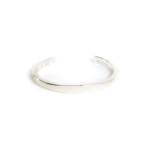 Heavyweight Workshop Cuff - Small / Sterling Silver /