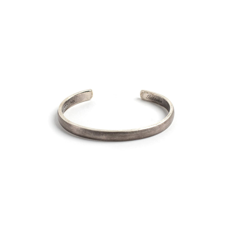 Lodge Cuff - Small / Sterling Silver / Work Patina - Cuffs /