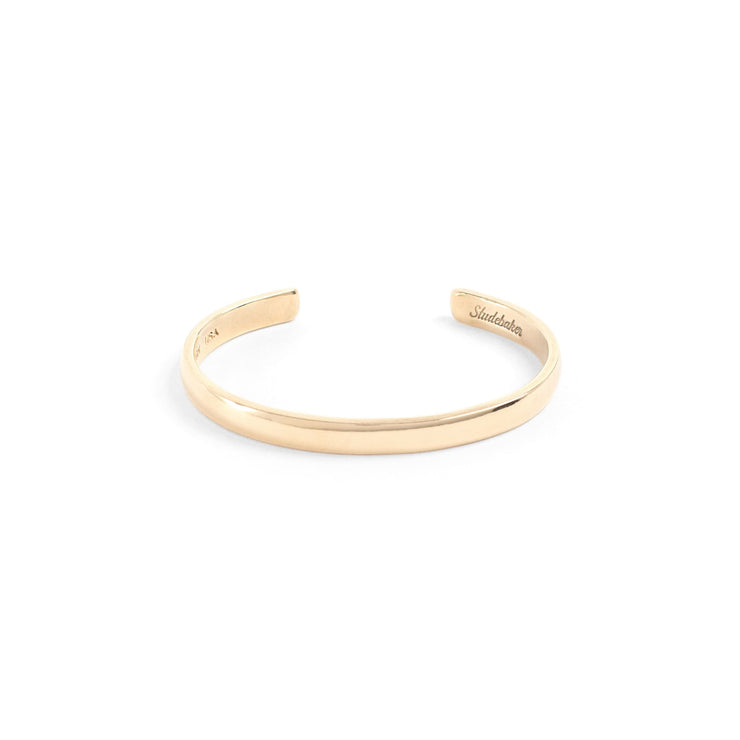 Lodge Cuff / Solid Gold - 10K / Small / Yellow - Cuffs /