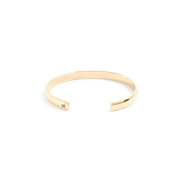 Lodge Cuff / Solid Gold - Cuffs / Bracelets