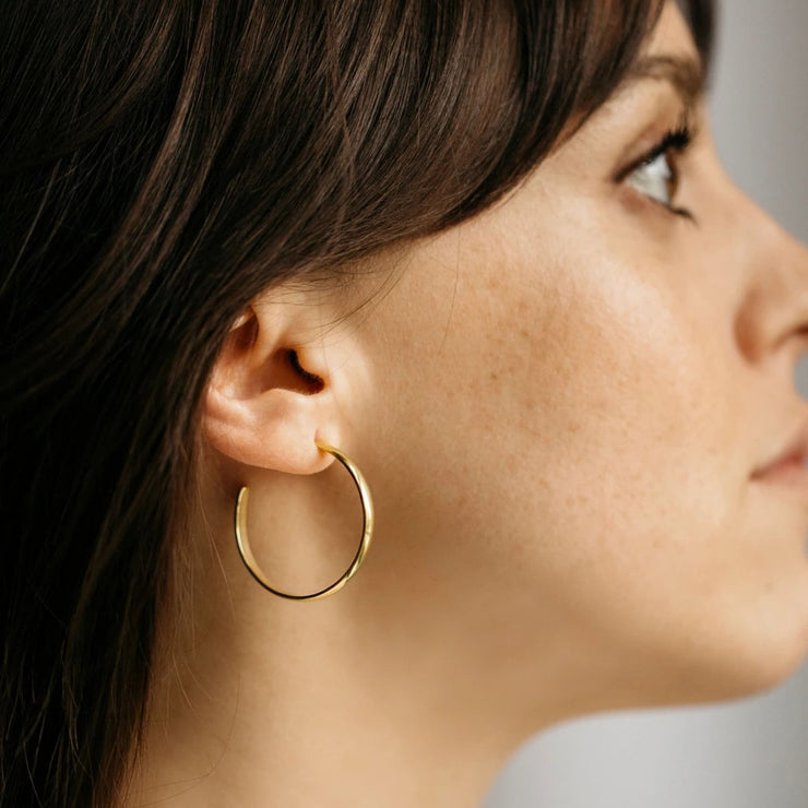 Lodge Hoops - Earrings