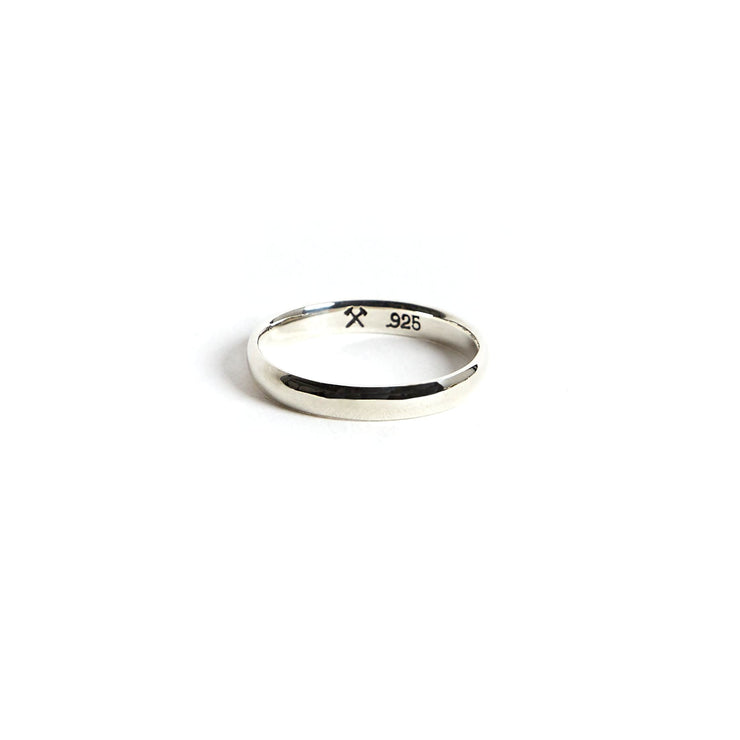 Lodge Ring / Sterling Silver - 4 / Polished / 3mm - Rings