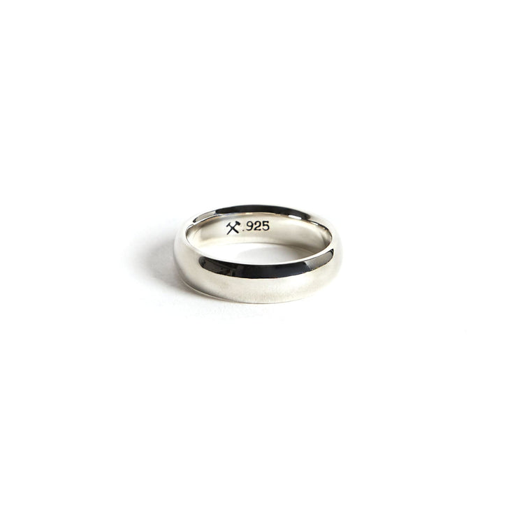 Lodge Ring / Sterling Silver - 4 / Polished / 6mm - Rings