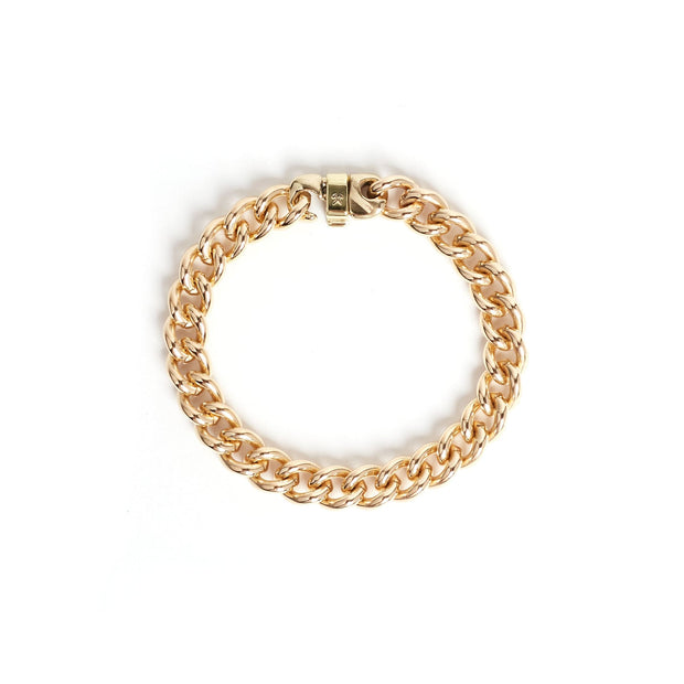 Signature Bracelet - Small / Brass / Polished - Cuffs /