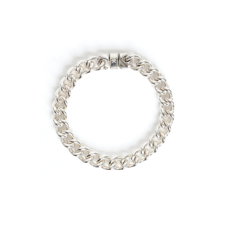 Signature Bracelet - Small / Sterling Silver / Polished -