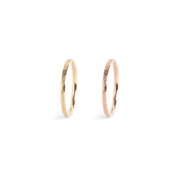 Solid Gold Classic Band Ring - 2mm / 14k / 4.5 - Rings