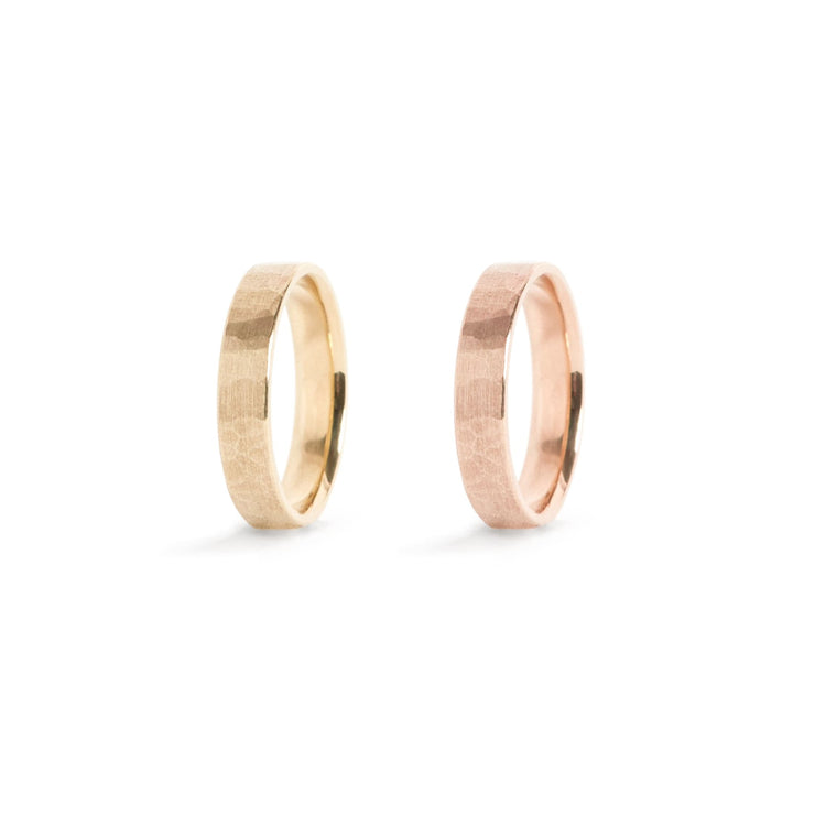 Solid Gold Classic Band Ring - 4mm / 14k / 4.5 - Rings