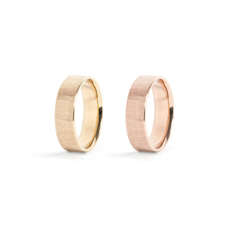 Solid Gold Classic Band Ring - 6mm / 14k / 4.5 - Rings