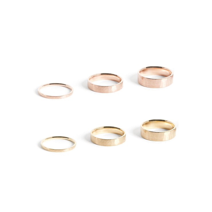 Solid Gold Classic Band Ring - Rings