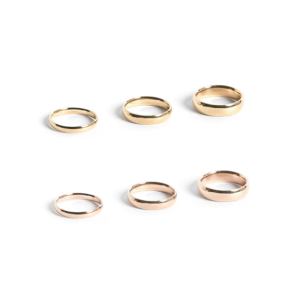 Solid Gold Lodge Ring - Rings