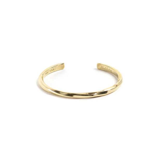 Studebaker Cuff - Small / Brass / Polished - Cuffs /
