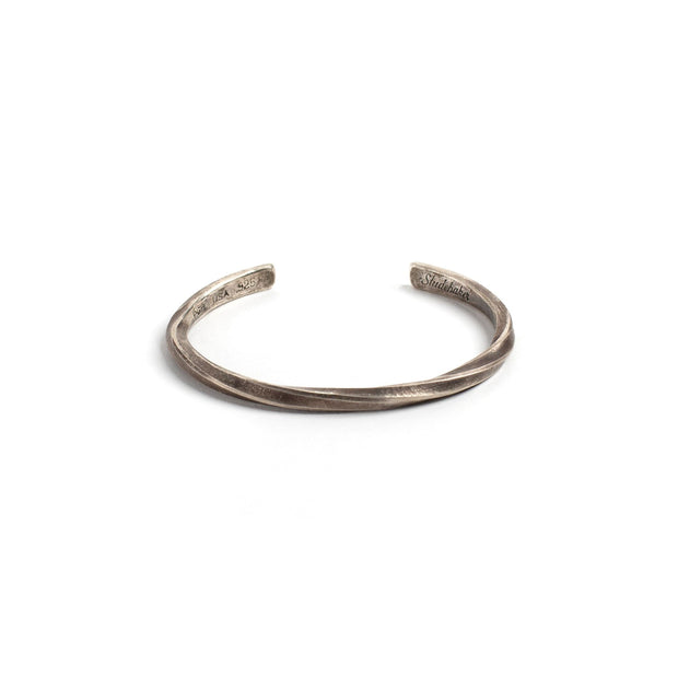 Studebaker Cuff - Small / Sterling Silver / Work Patina -
