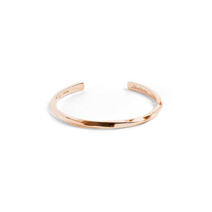 Studebaker Cuff / Solid Gold - 10K / Small / Rose - Cuffs /
