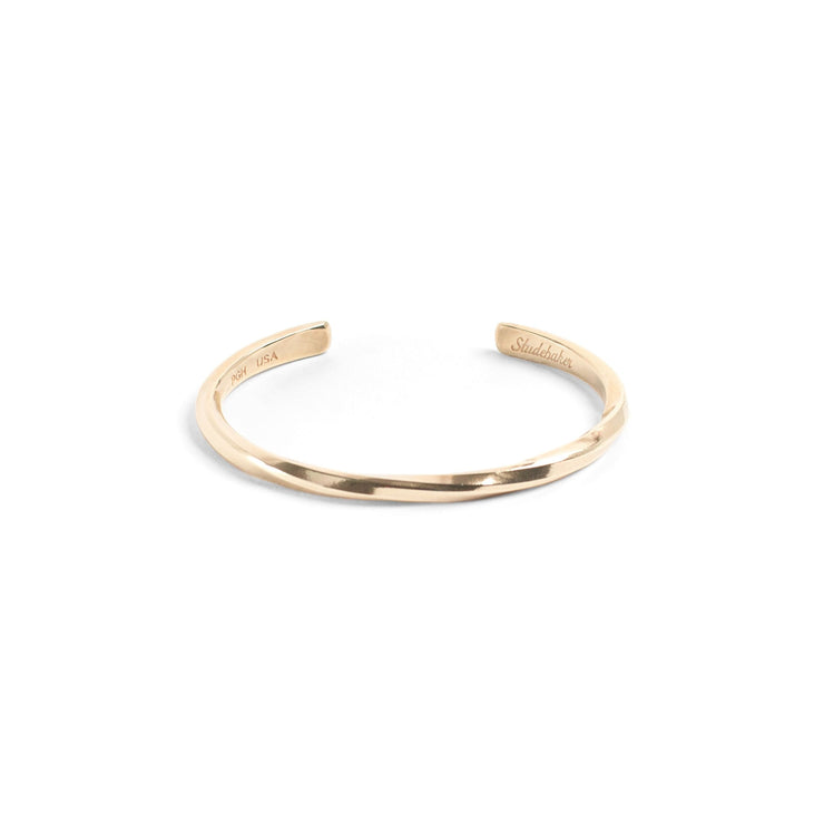 Studebaker Cuff / Solid Gold - 10K / Small / Yellow - Cuffs
