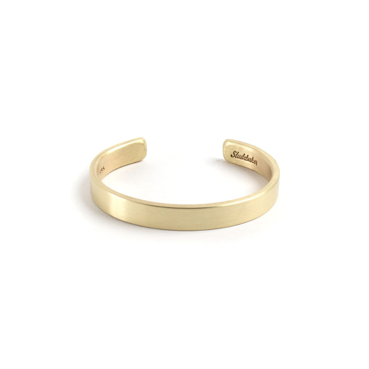Thompson Cuff - Small / Brass / Brushed - Cuffs / Bracelets