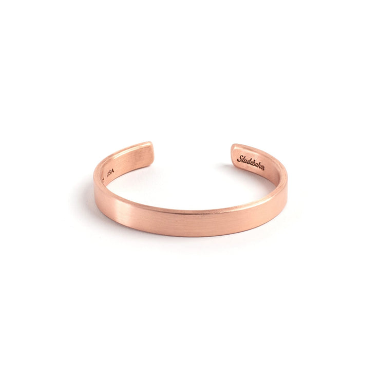 Thompson Cuff - Small / Copper / Brushed - Cuffs / Bracelets