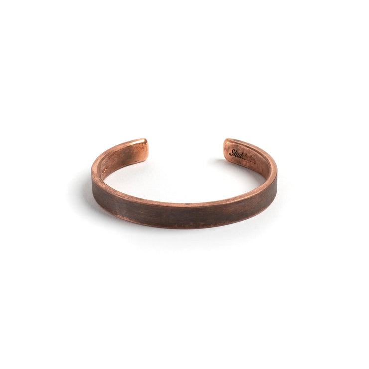Thompson Cuff - Small / Copper / Work Patina - Cuffs /