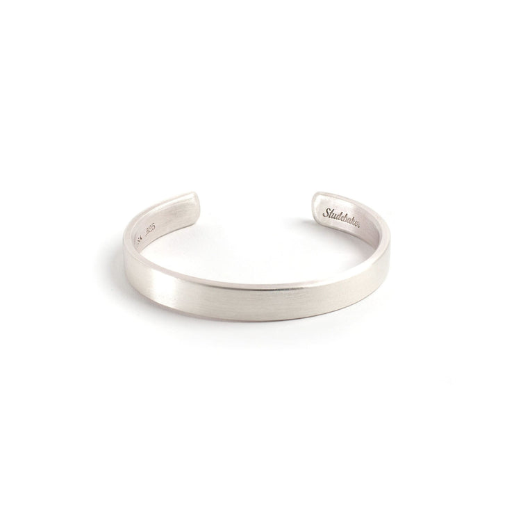 Thompson Cuff - Small / Sterling Silver / Brushed - Cuffs /