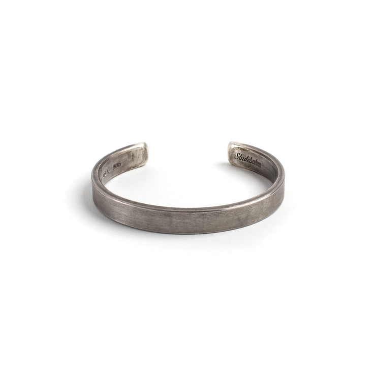 Thompson Cuff - Small / Sterling Silver / Work Patina -