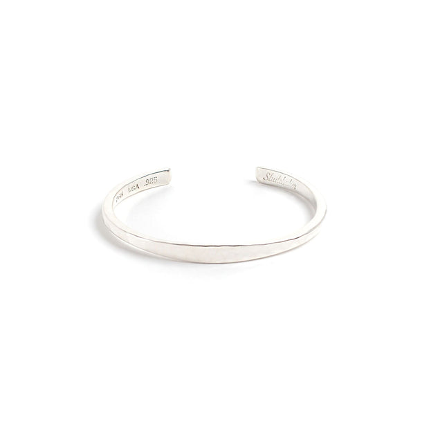 Workshop Cuff - Small / Sterling Silver / Polished - Cuffs /
