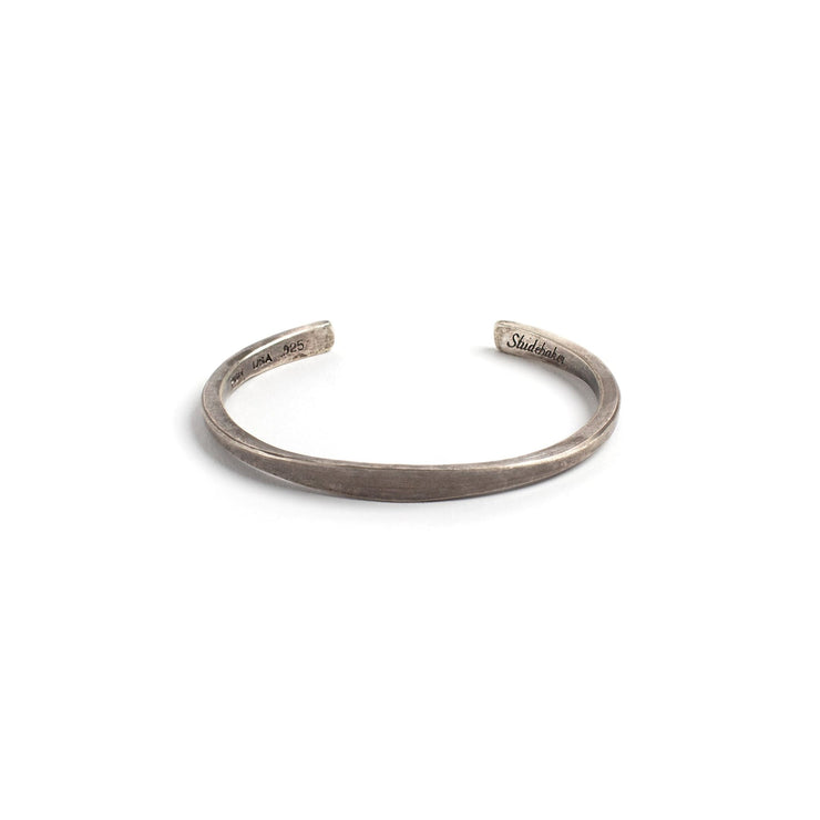 Workshop Cuff - Small / Sterling Silver / Work Patina -