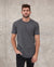 MAGO plain charcoal grey short sleeve t-shirt