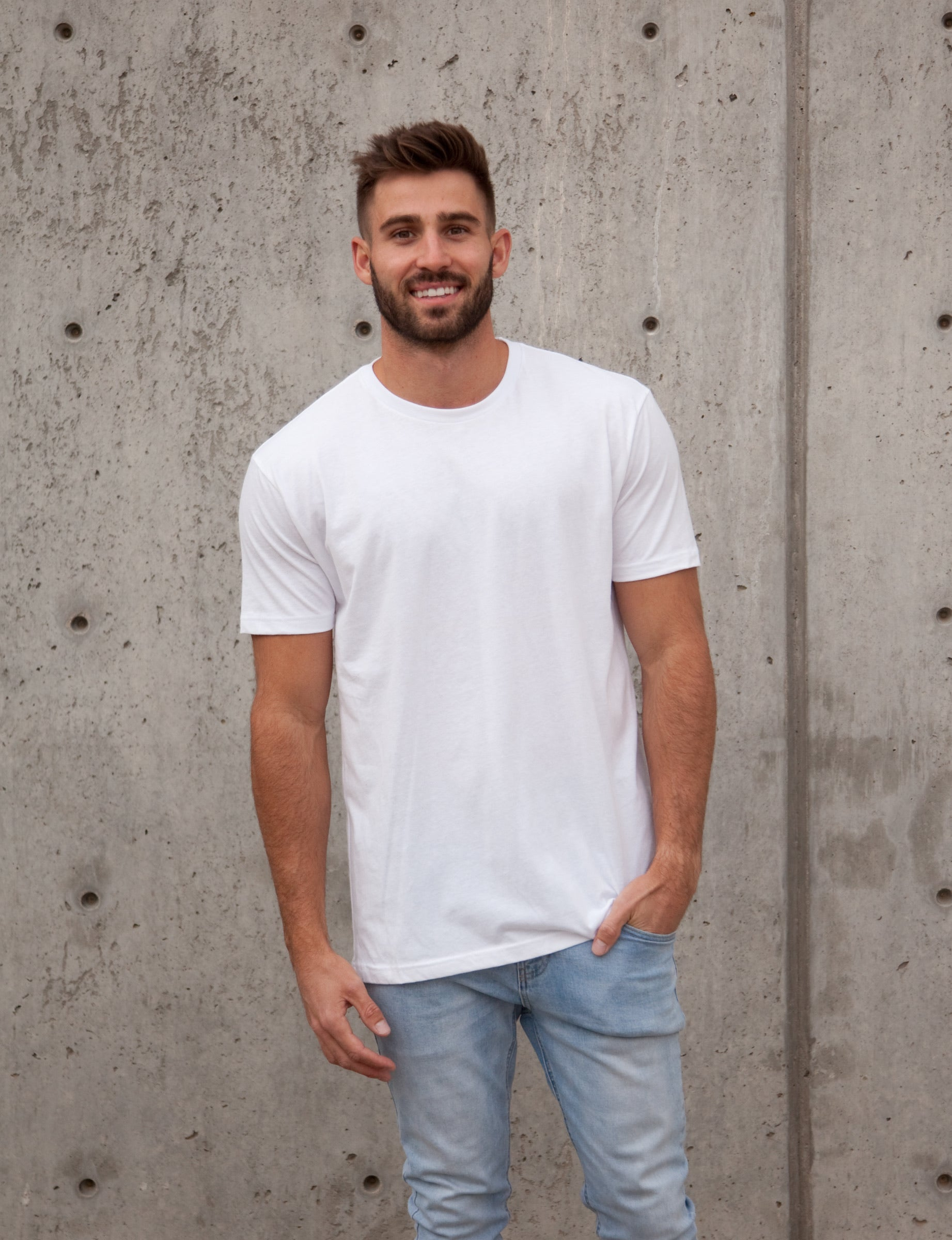 Mago White Short Sleeve t-shirt