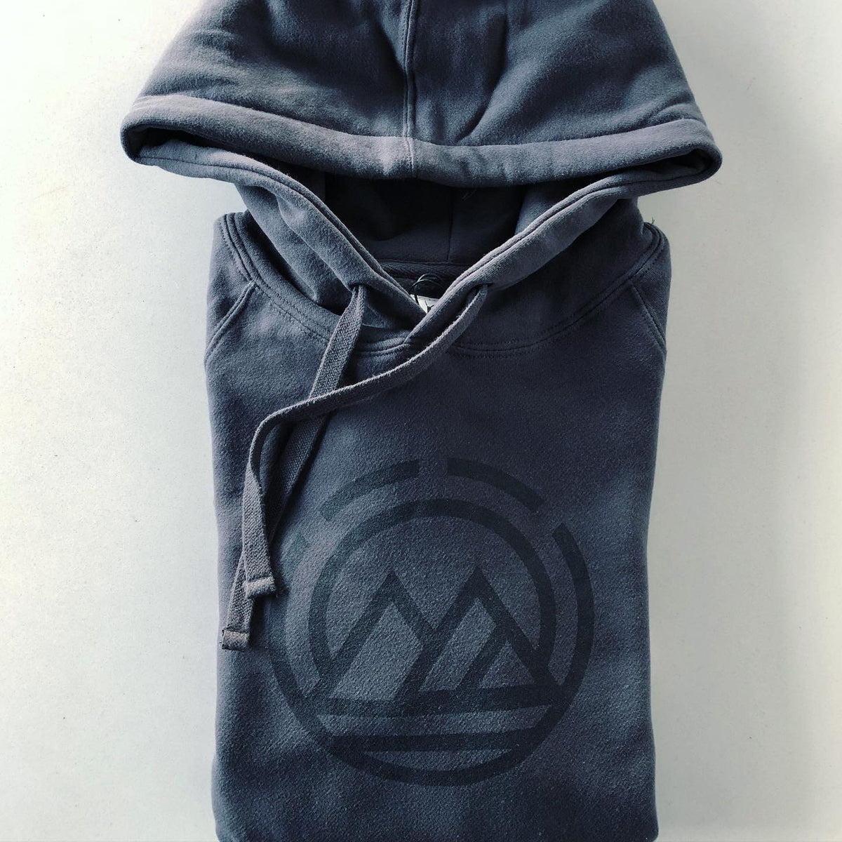 MAGO Night/ Charcoal Logo Hoodie