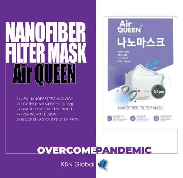 Air - Queen Nano Filter Mask