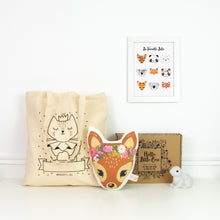 La box express : Lulu, Tote Bag et veilleuse lapin