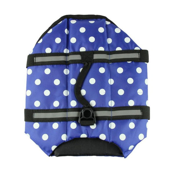 Pet Dog Saver Life Vest Coat Flotation Float Life Jacket