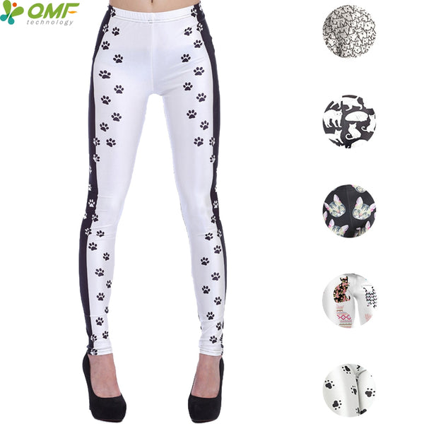 Paw Print and Kitty Cat Leggings
