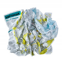 Crumpled City Map Amsterdam