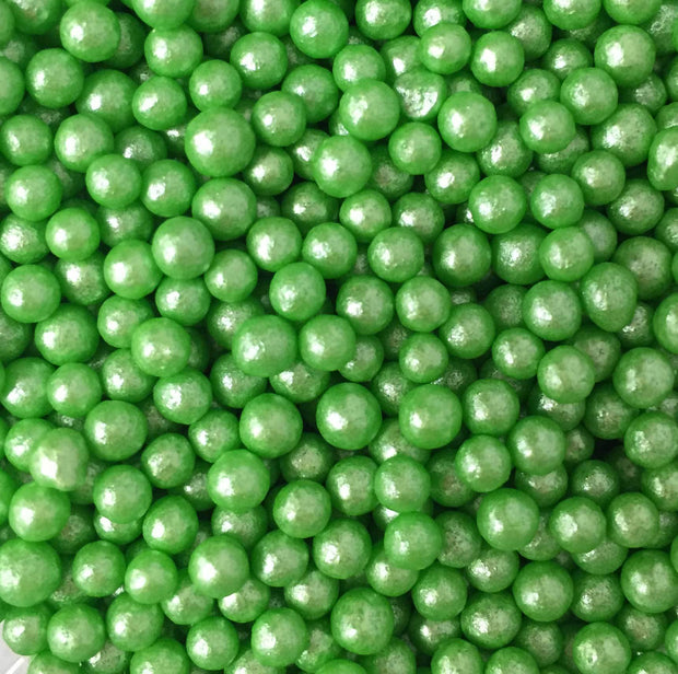 Glimmer Pearls - Green