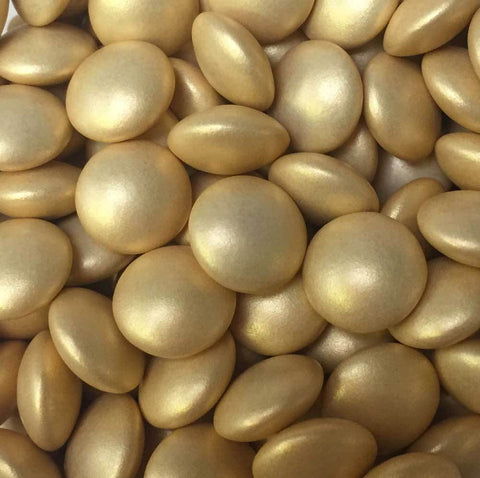 Mini Chocolate Beans - Glimmer Gold